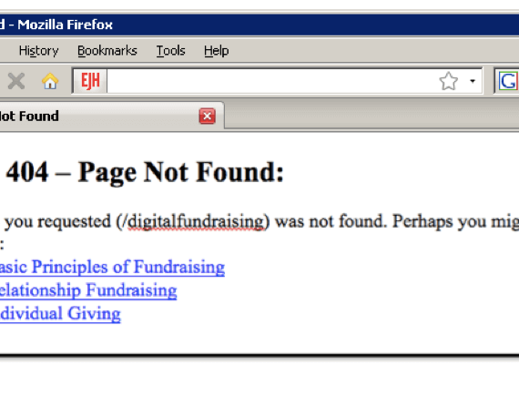"A screenshot of a webpage with the message ""Error 404 - Page Not Found"""