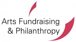 The logo of Arts Fundraising and Philanthropy