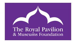 The logo of the Royal Pavilion & Museums Foundation