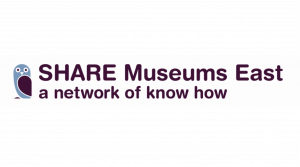The logo of SHARE Museums East