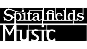 The logo of Spitalfields Music