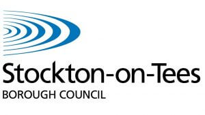 The logo for Stockton-on-Tees Borough Council