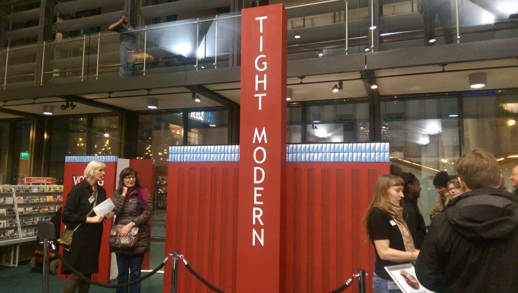 The Tight Modern - a small touring art gallery the size of a garden shed to showcase the work of under-represented artists
