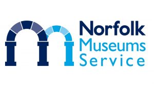 The logo of Norfolk Museums Service