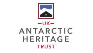 The logo of the UK Antarctic Heritage Trust