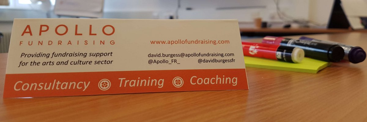 Apollo Fundraising - Providing consultancy, training and support to help arts and culture organisations to achieve their fundraising goals