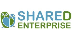 The logo of SHARED Enterprise