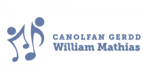 The logo of Canolfan Gerdd William Mathias