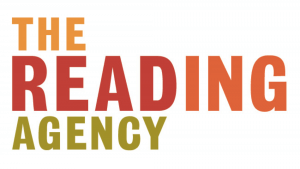 The logo of The Reading Agency